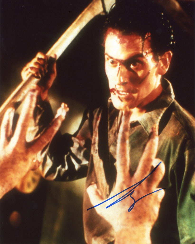 Bruce Campbell Signed Photo