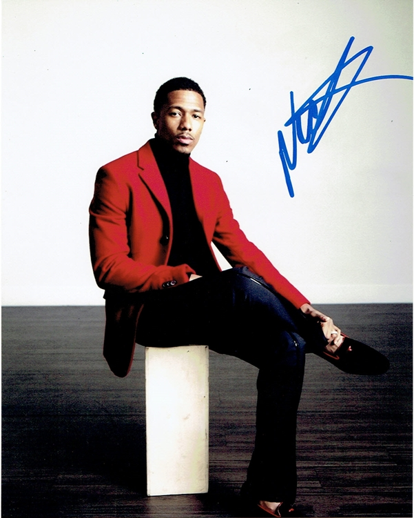 Nick Cannon Handsome Autograph Signed 8x10 Photo