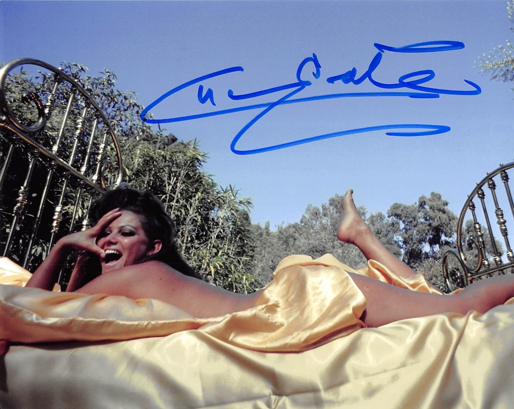 Claudia Cardinale Signed Photo
