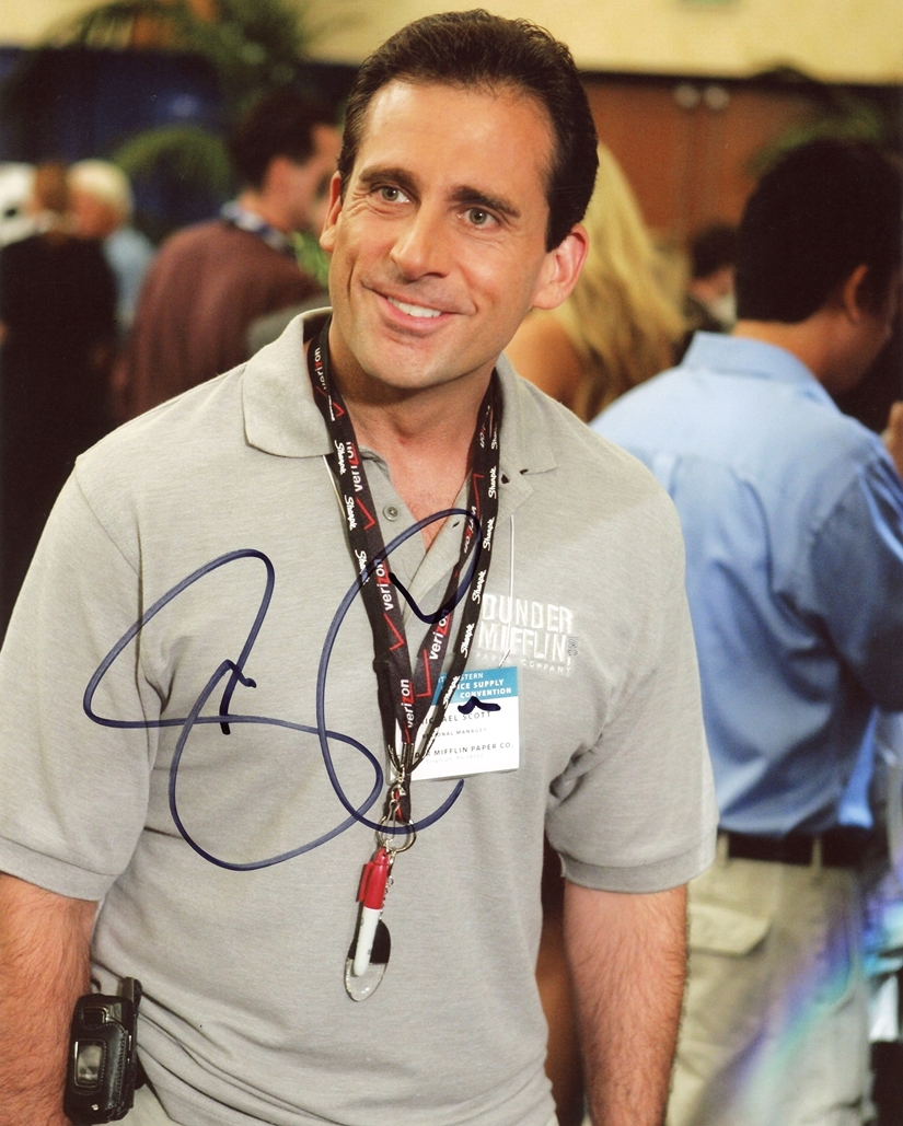 Steve Carell Signed Photo