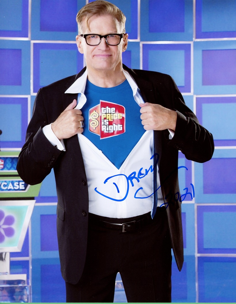 Drew Carey Signed Photo