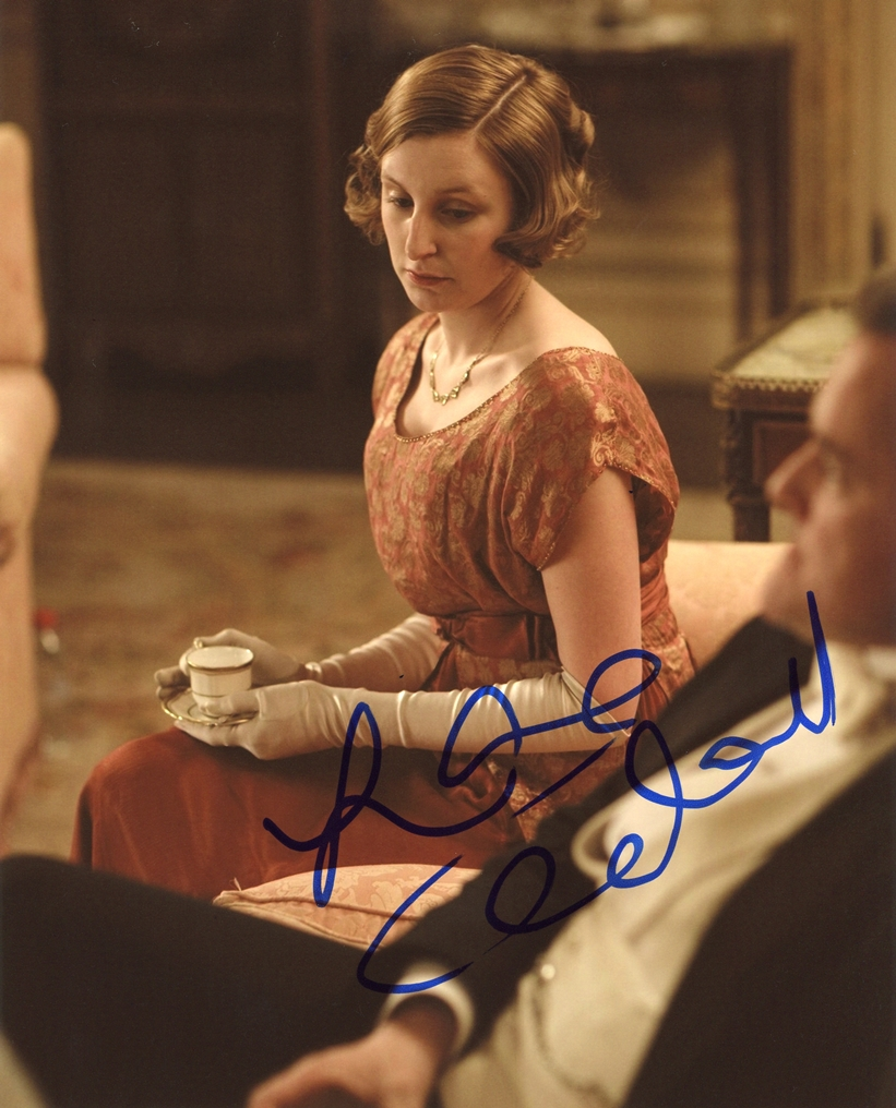 Laura Carmichael Signed Photo