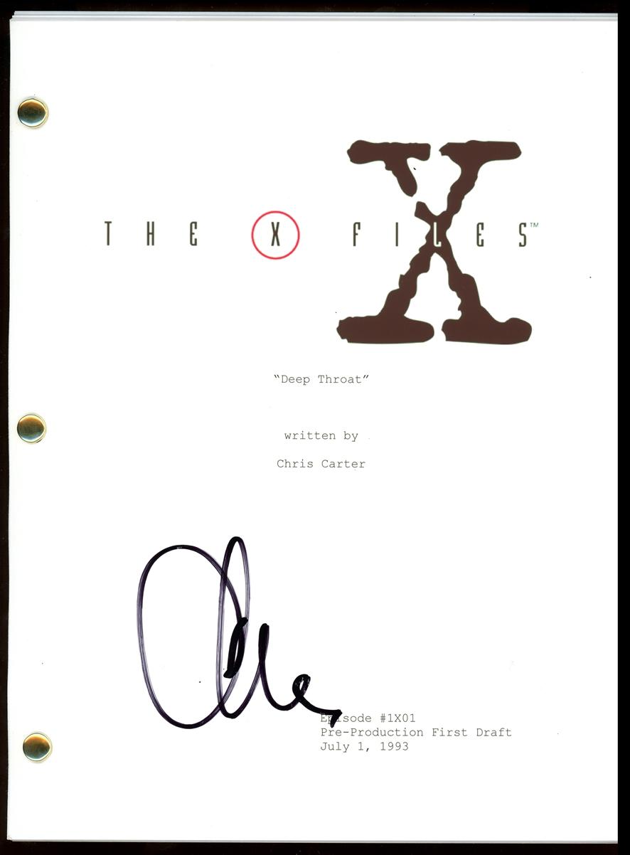 Chris Carter Signed Photo