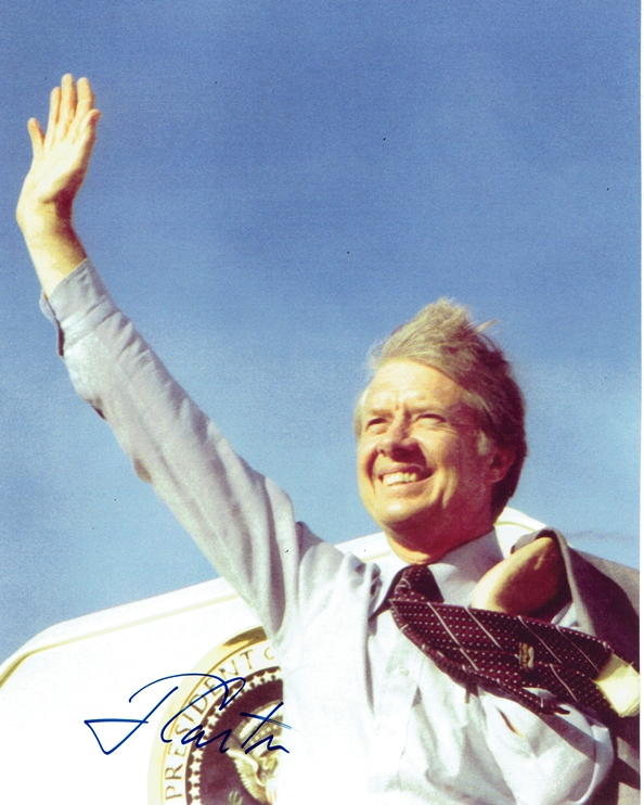 Jimmy Carter Signed Photo