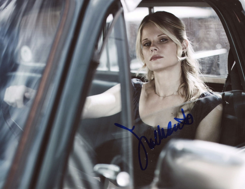 Joelle Carter Signed Photo