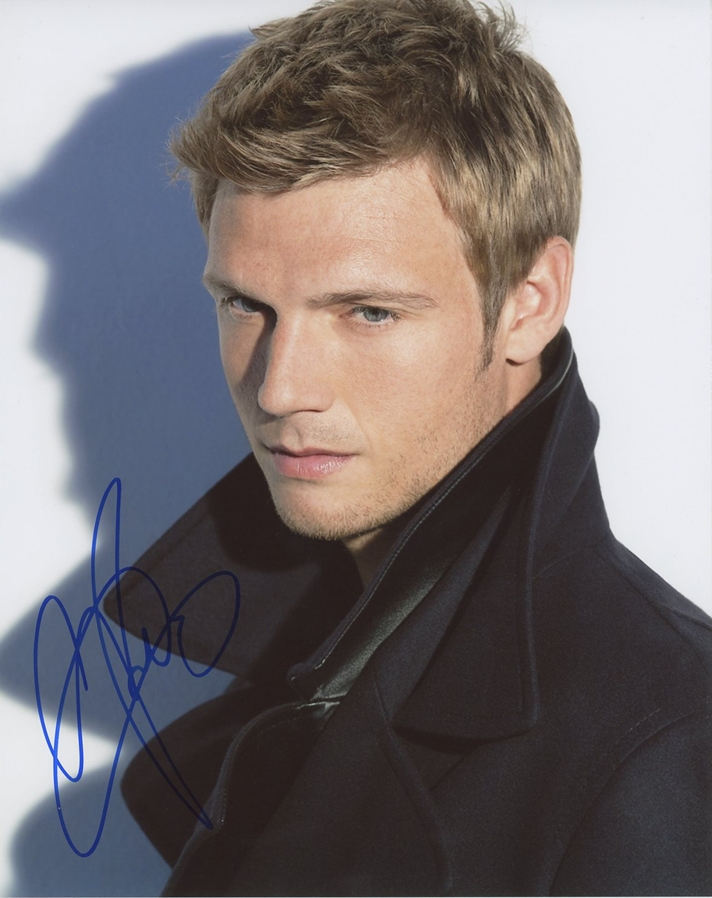 Nick Carter Signed Photo