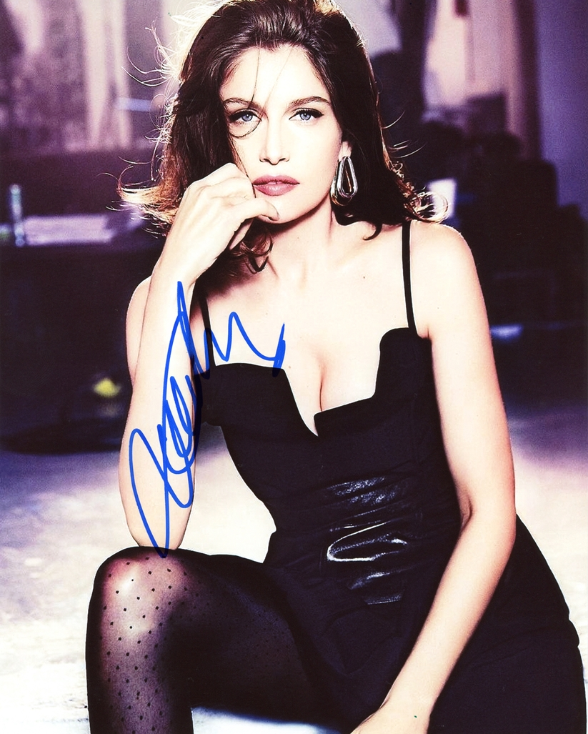 Laetitia Casta Signed Photo