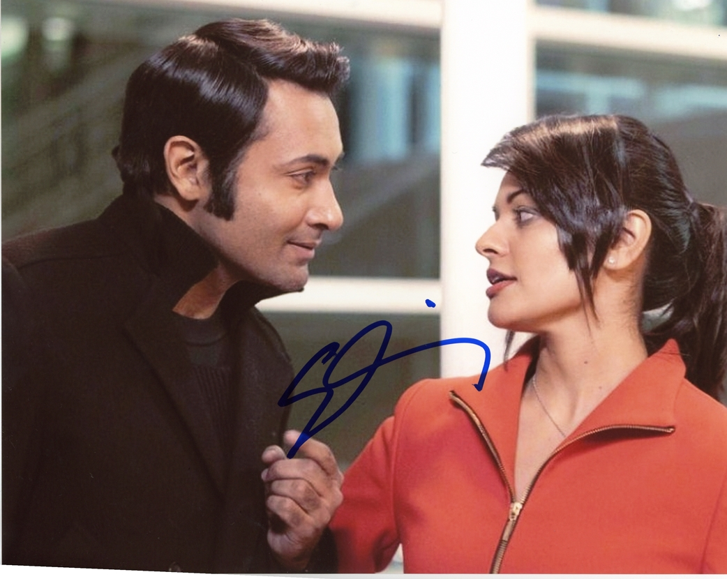 Samrat Chakrabarti Signed Photo