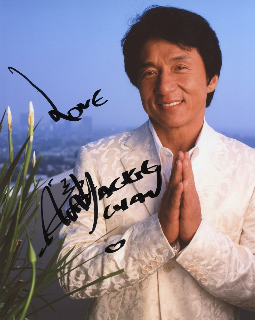 Jackie Chan Signed Photo