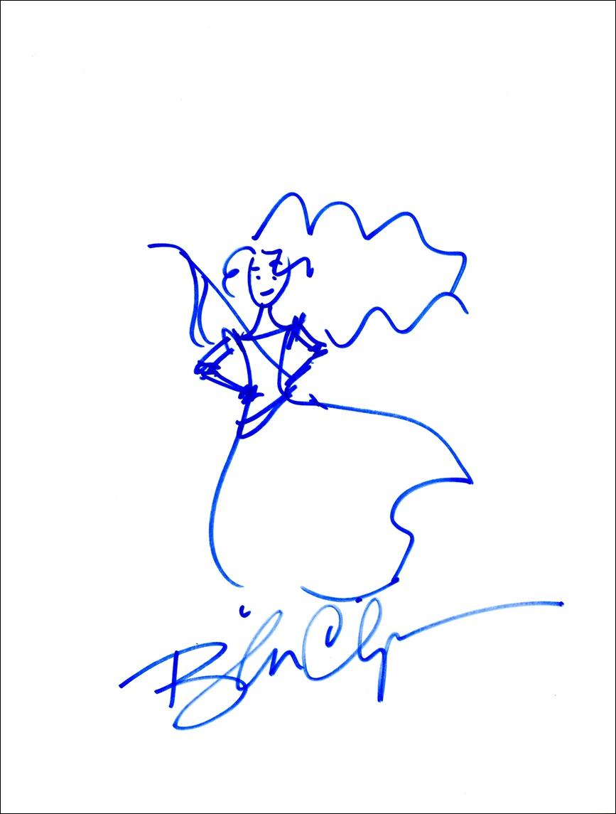 Brenda Chapman Signed Sketch