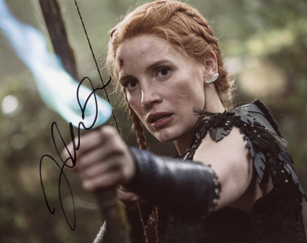 Jessica Chastain Signed Photo