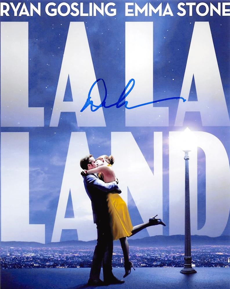 Damien Chazelle Signed Photo