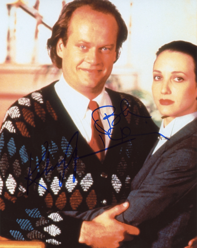 Kelsey Grammer & Bebe Neuwirth Signed Photo