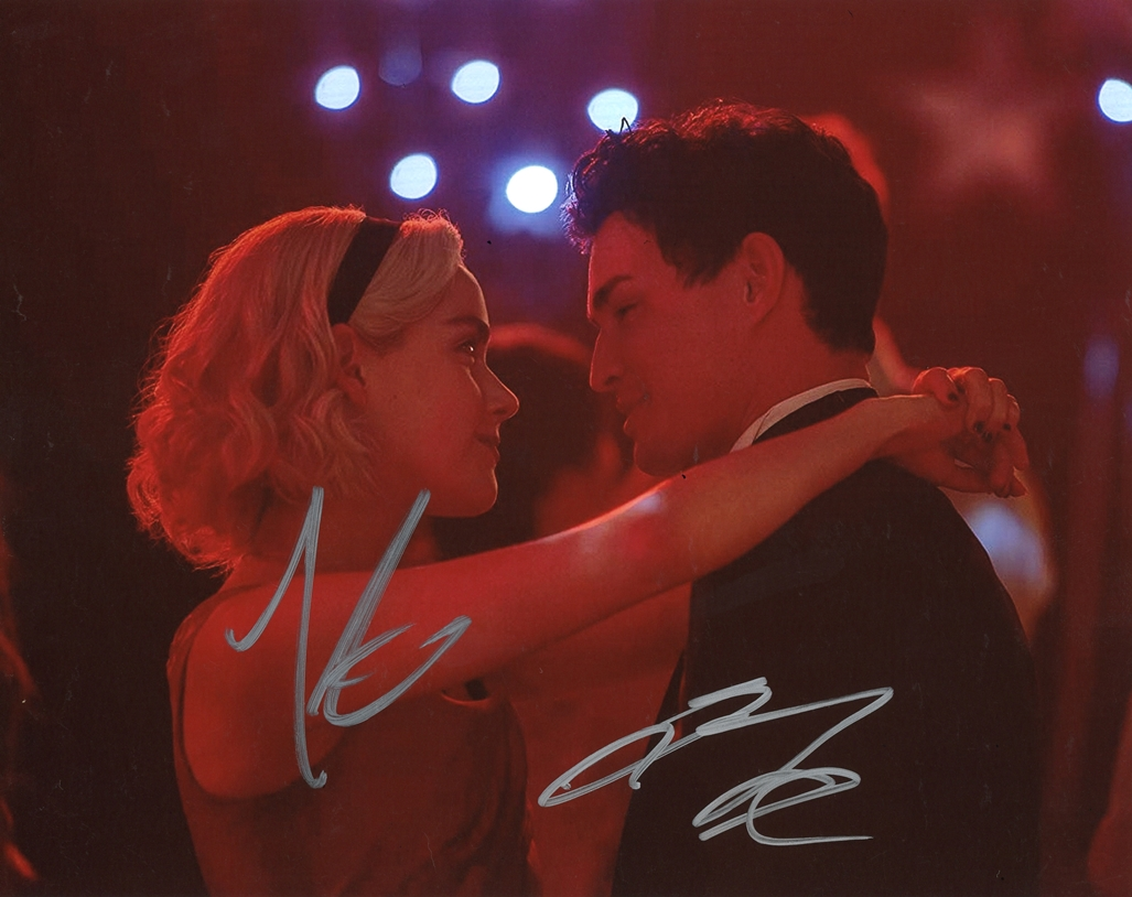 Kiernan Shipka & Gavin Leatherwood Signed Photo