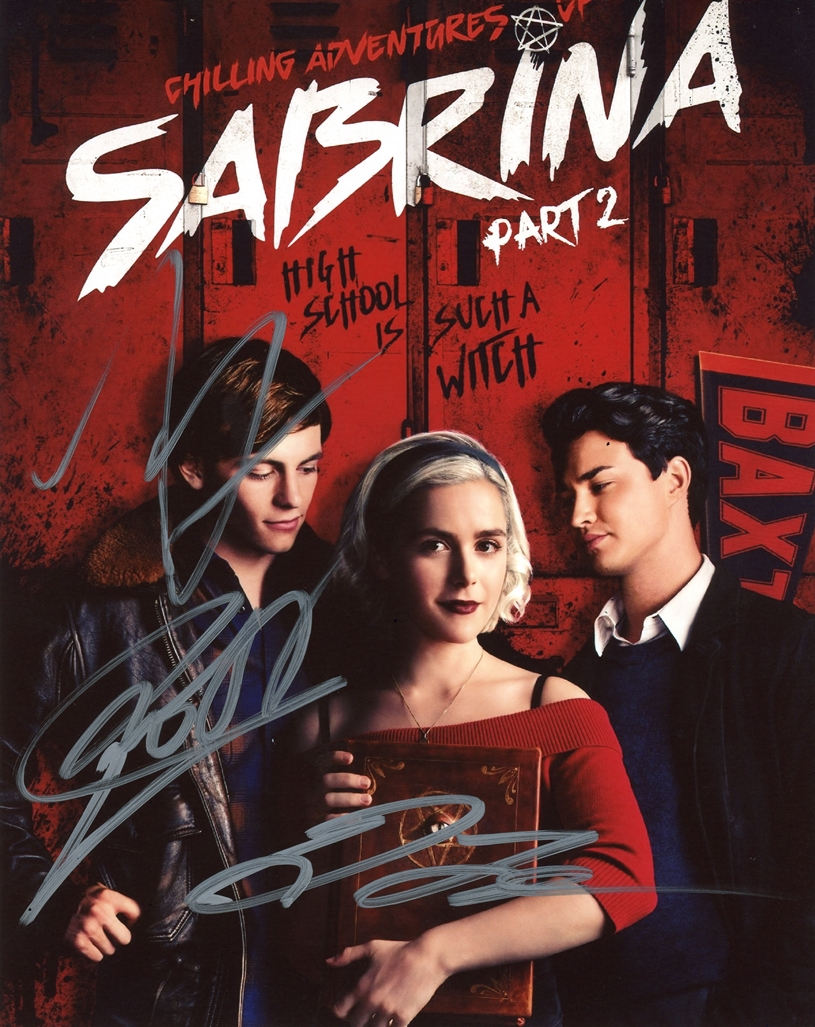 Chilling Adventures of Sabrina Signed Photo