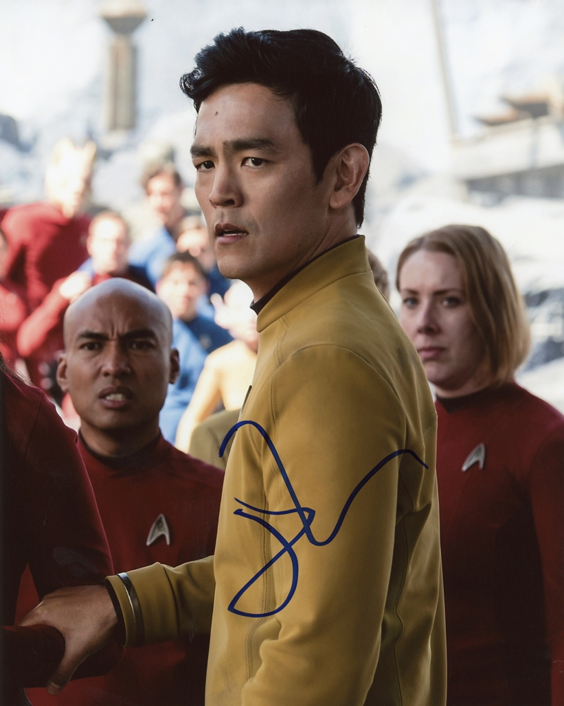 John Cho Signed Photo