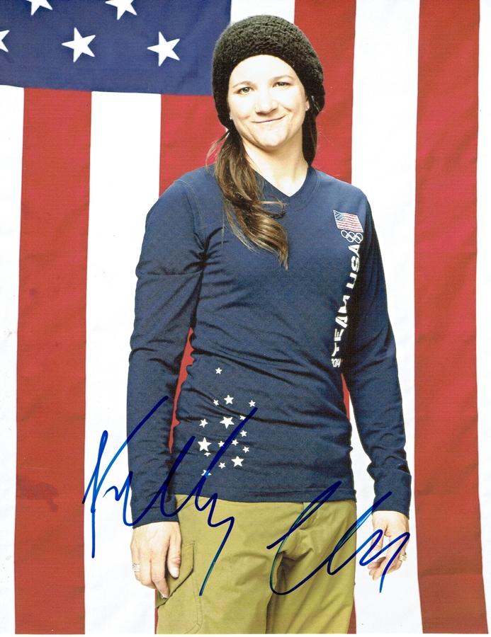 Kelly Clark Signed Photo