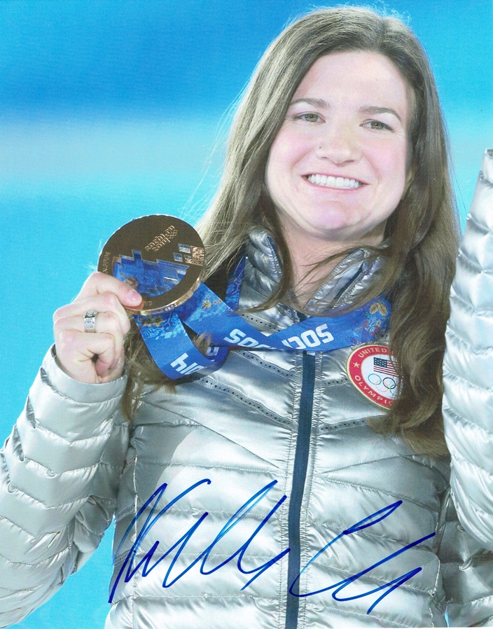 Kelly Clark Signed Photo