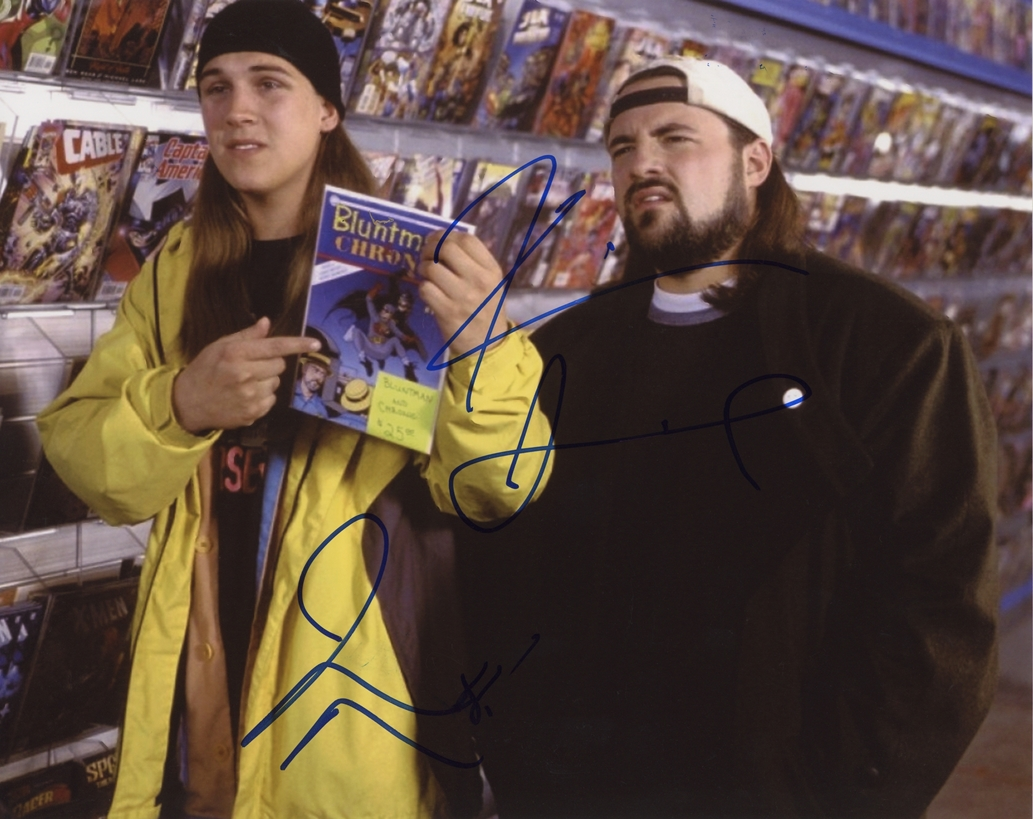 Kevin Smith & Jason Mewes Signed Photo