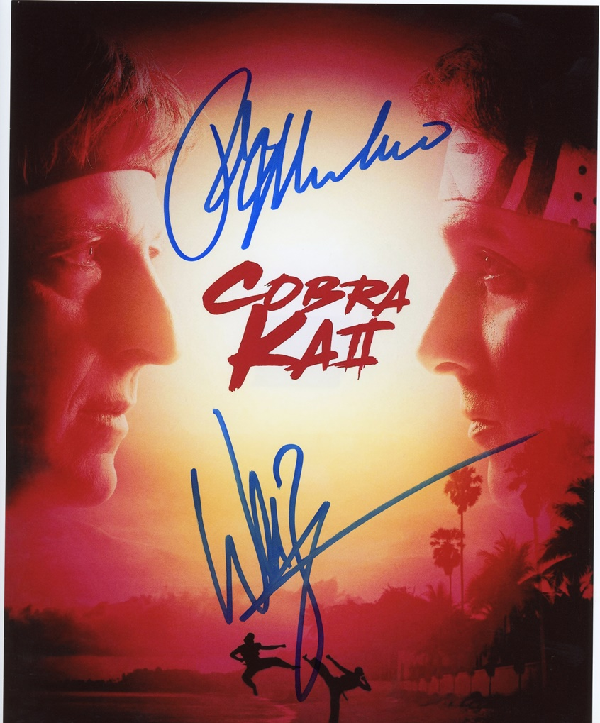 Cobra Kai Signed Photo