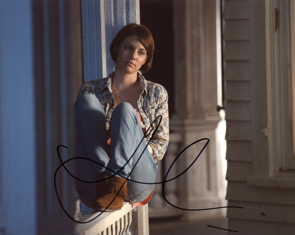 Lauren Cohan Signed Photo