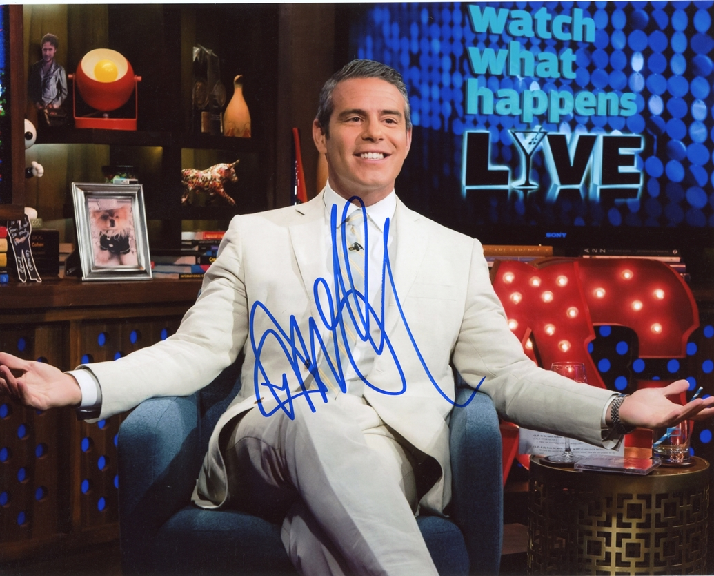 Andy Cohen Signed Photo