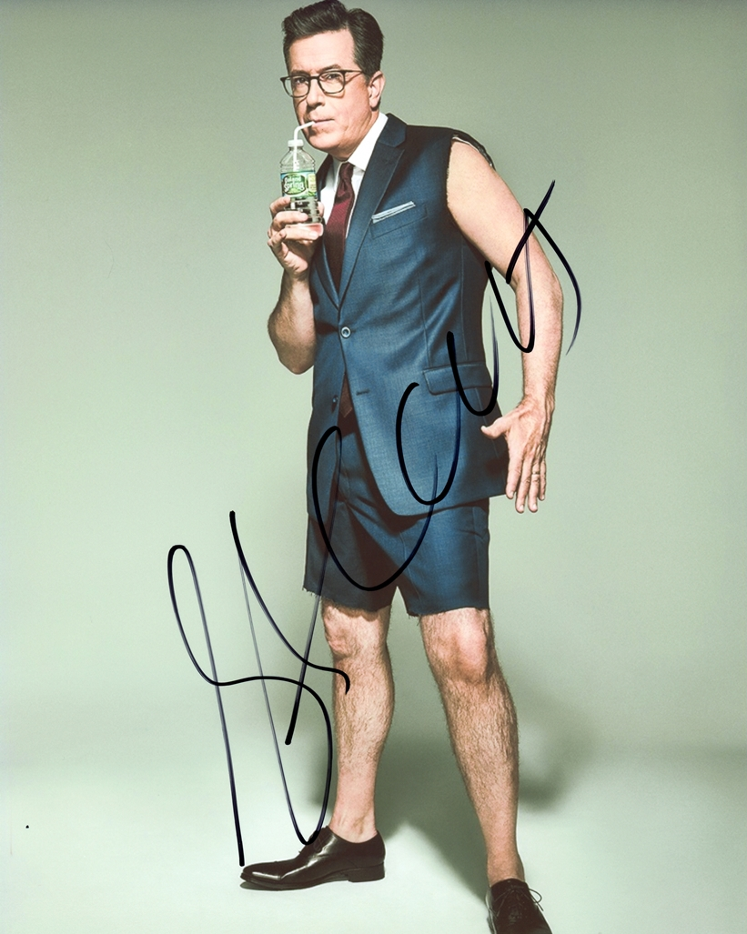 Stephen Colbert Signed Photo