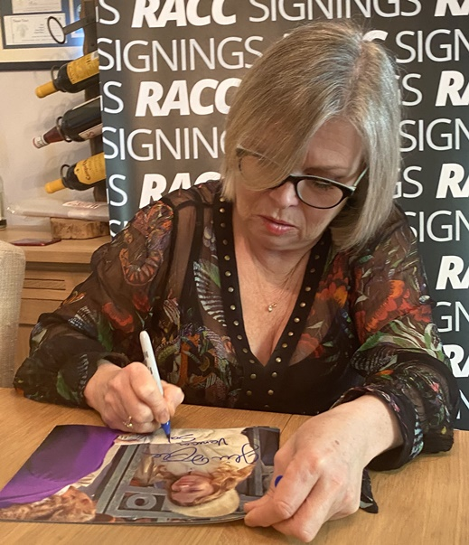 Julie Dawn Cole Signing Proof