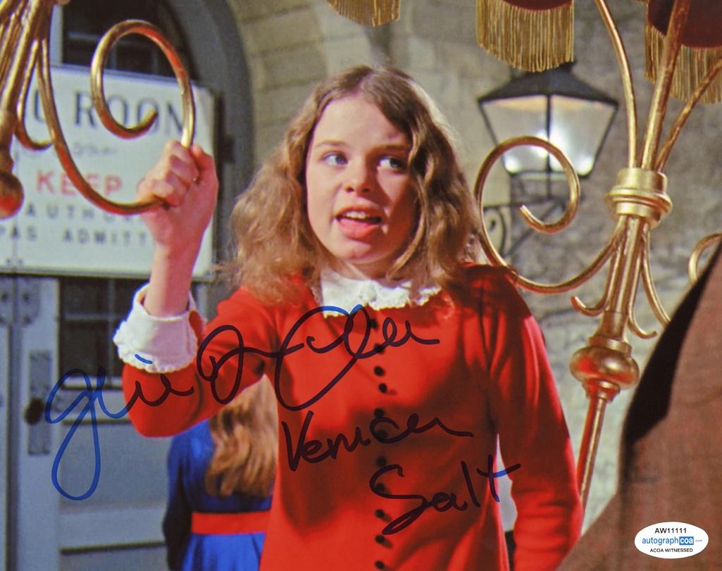 Julie Dawn Cole Signed Photo