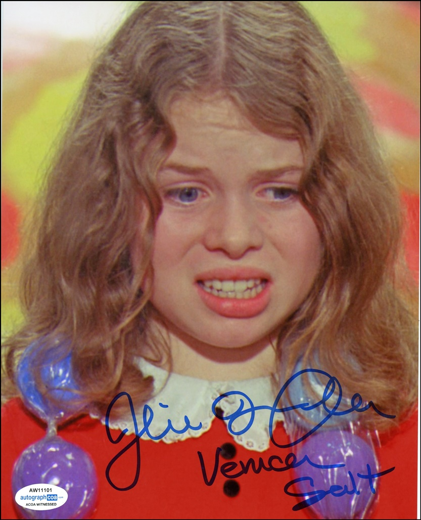 Julie Dawn Cole Signed Photo