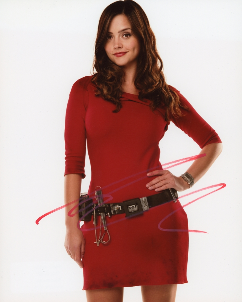 Jenna-Louise Coleman Signed Photo