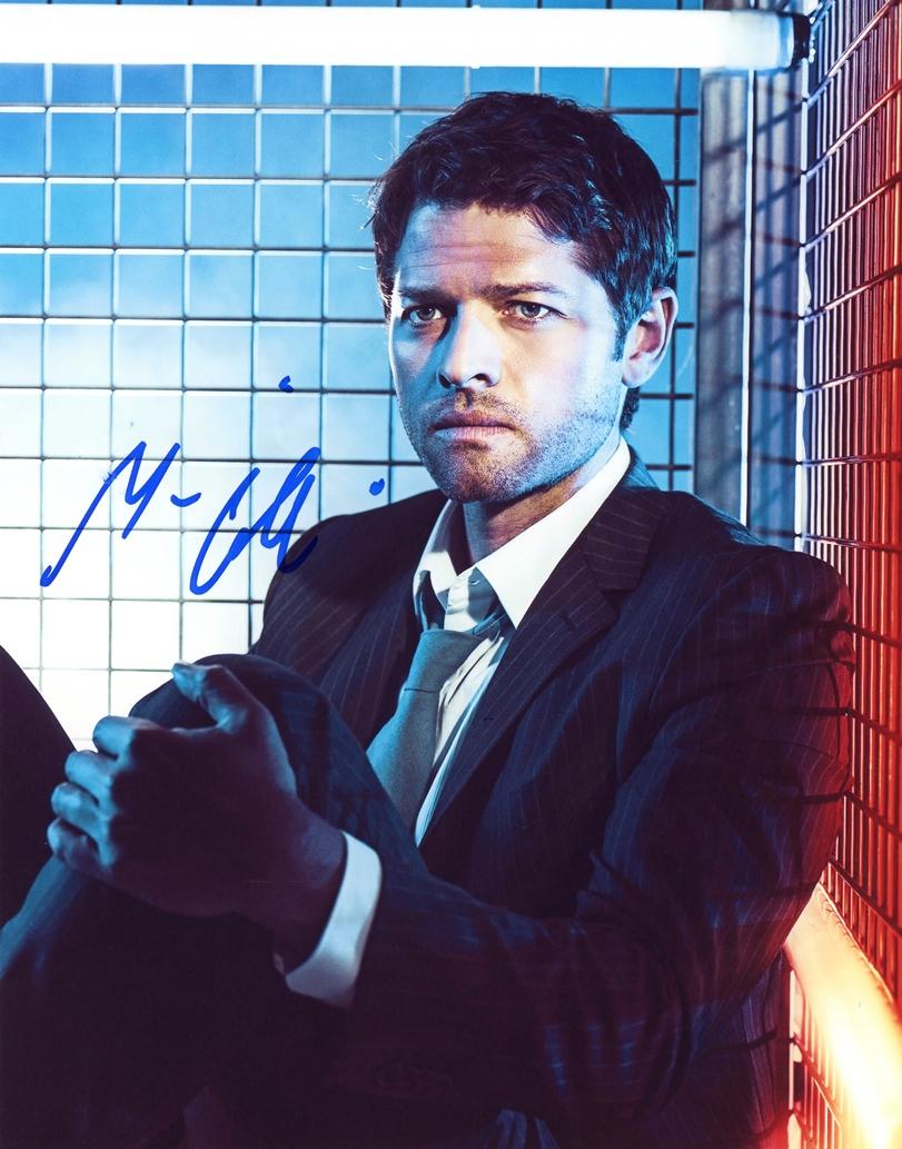 Misha Collins Signed Photo