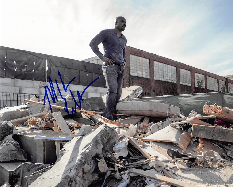 Mike Colter Signed Photo