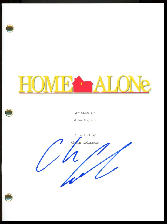 Chris Columbus Signed Photo