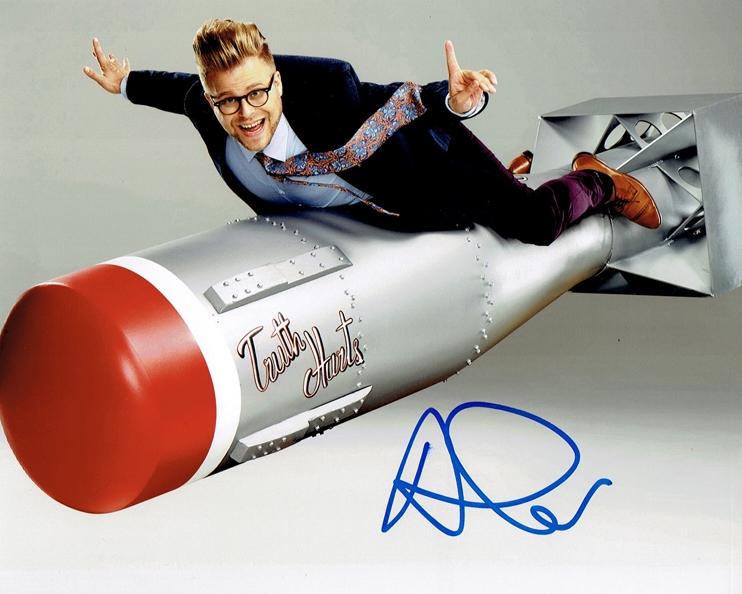 Adam Conover Signed Photo