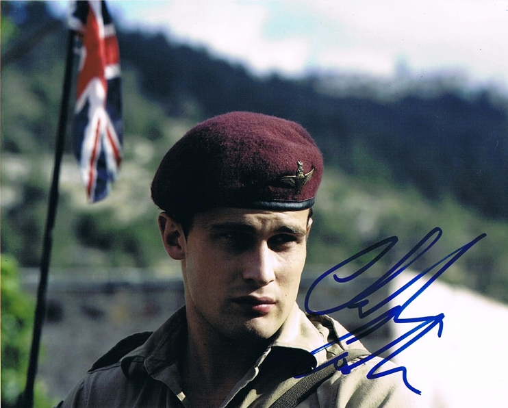 Christian Cooke Signed Photo