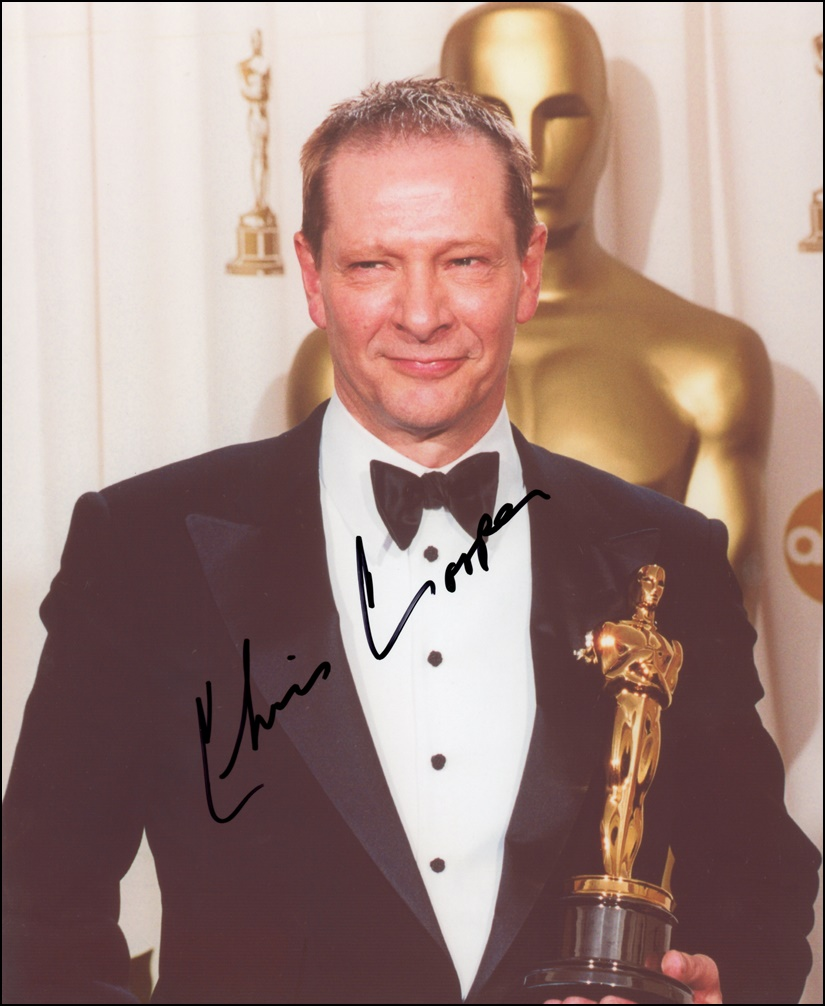 Chris Cooper Signed Photo