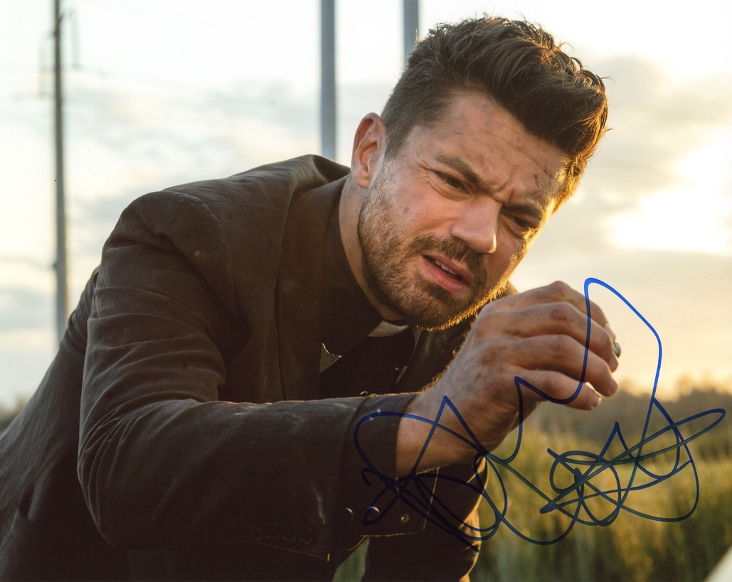 Dominic Cooper Signed Photo