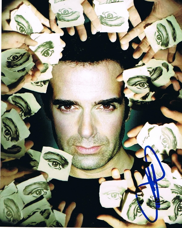 David Copperfield Signed Photo
