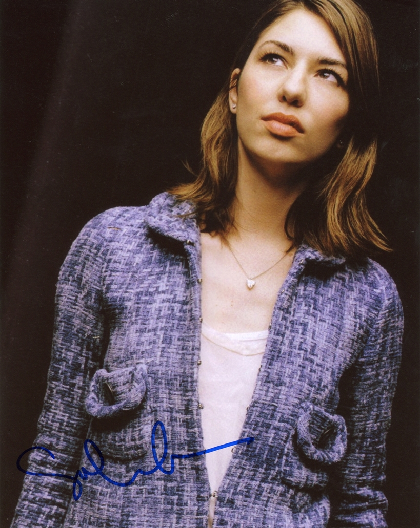 Sofia Coppola Signed Photo