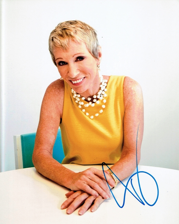 Barbara Corcoran Signed Photo