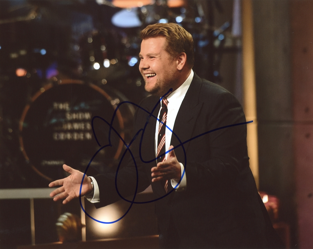 James Corden Signed Photo