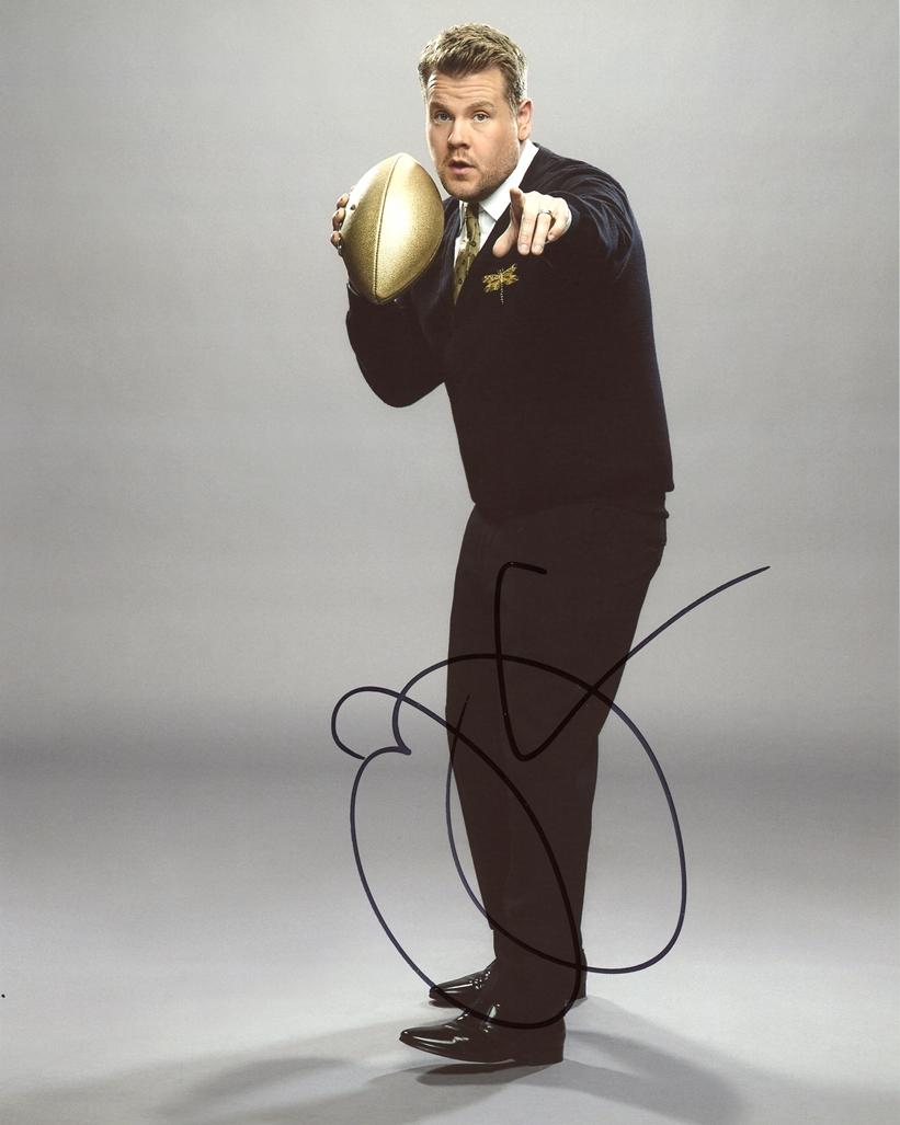 James Corden Signed Photo