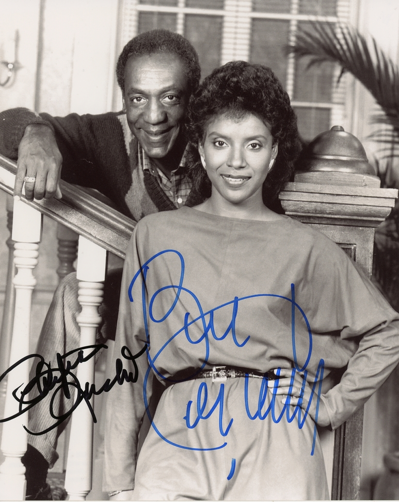 Bill Cosby & Phylicia Rashad Signed Photo