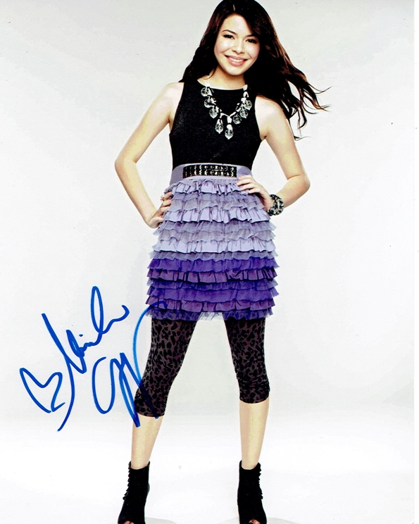 Miranda Cosgrove Signed Photo