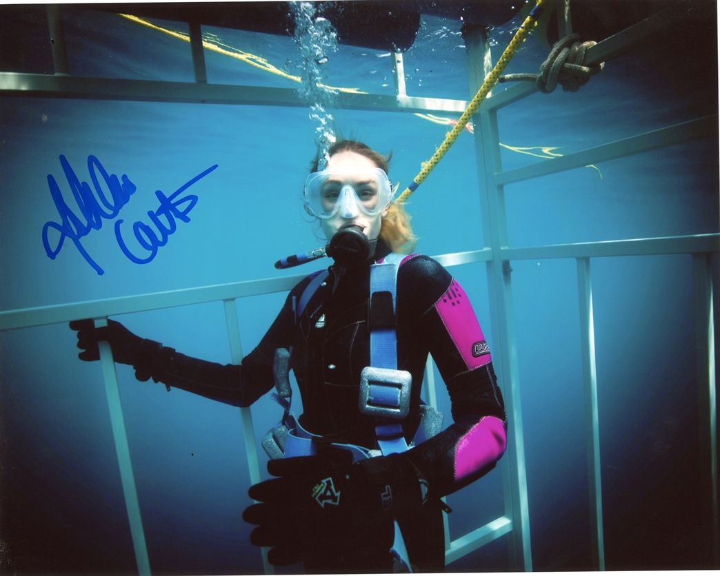 Ashlan Cousteau Signed Photo