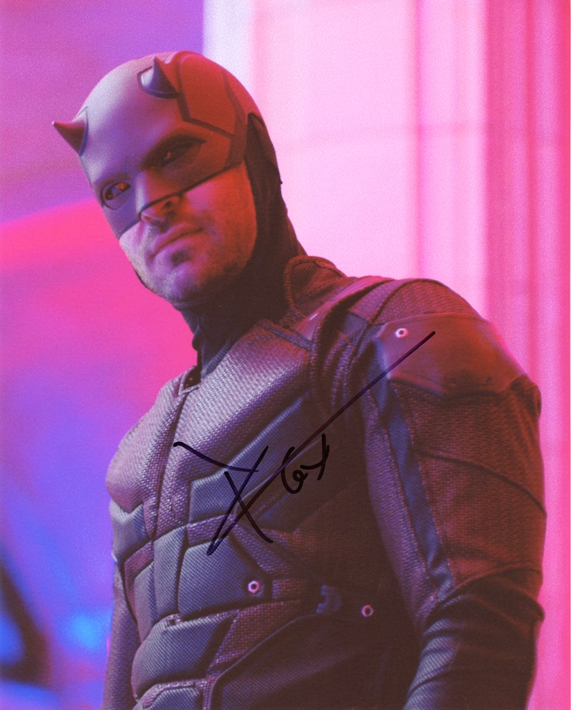 Charlie Cox Signed Photo
