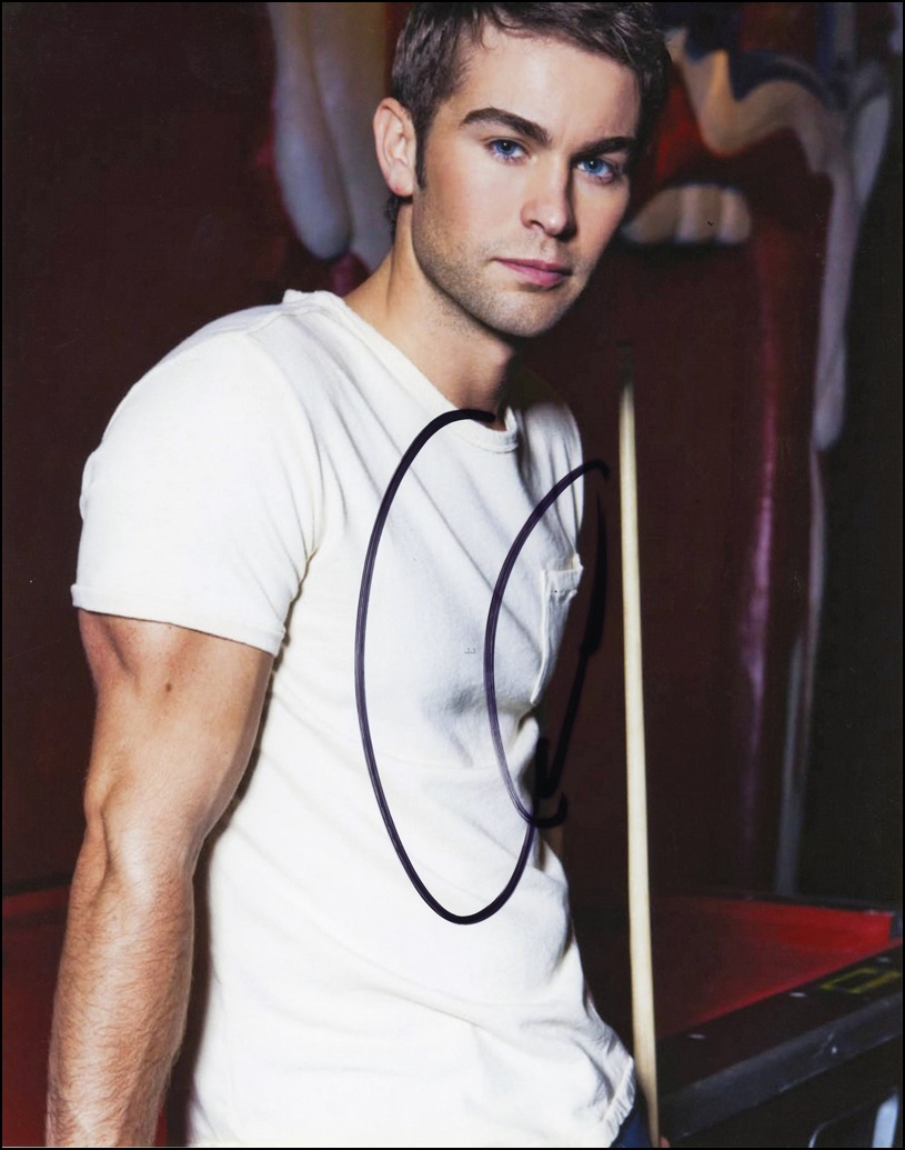 Chace Crawford Signed Photo