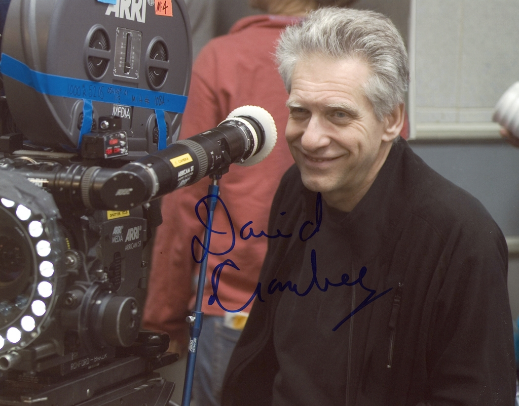 David Cronenberg Signed Photo