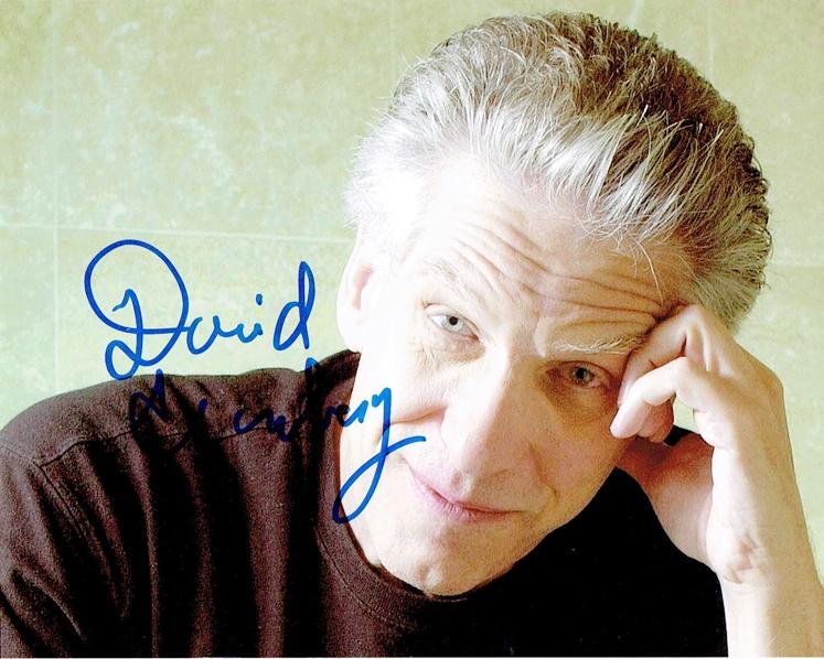 David Cronenberg Signed Photo